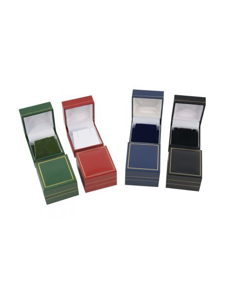 Classic Leatherette Earring Box from 76p each