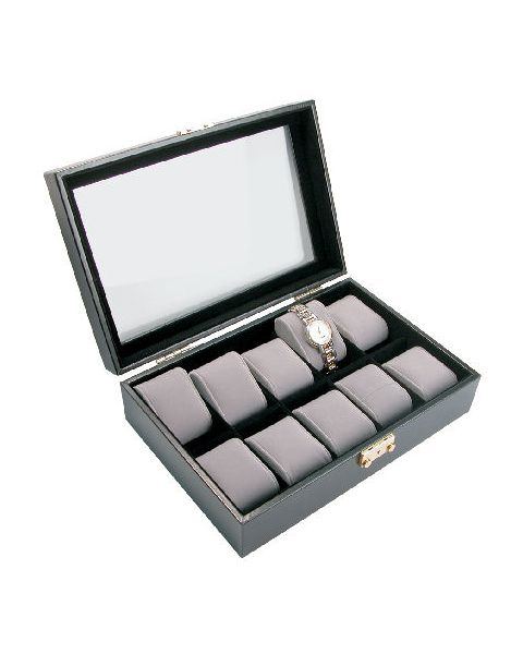Deluxe Watch Case for 10 Watches - BD220  **Special Offer**