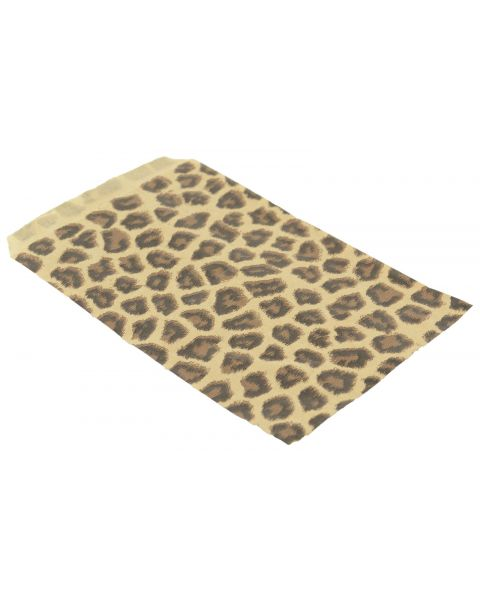 100 Leopard Print Paper Gift Bags from £2.49