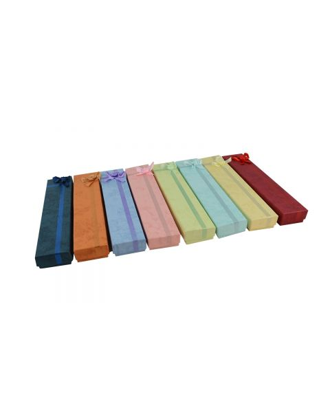 16 x Assorted Colours Bracelet Boxes with Bows from 69p each