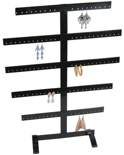 Metal Earring 5 Bar Stand for 50 pairs (BD251350)