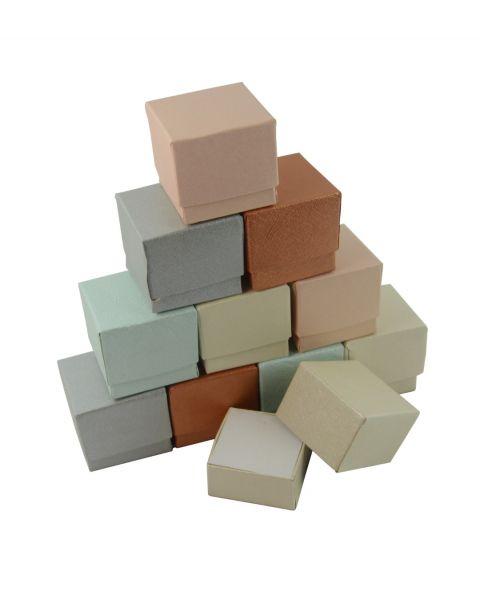 100 x Mixed Colour Ring Box