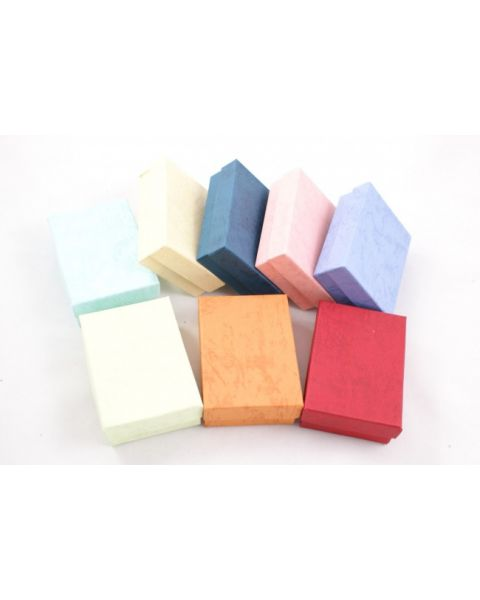 100 x Cotton Filled Multi Purpose Charm Earring Pendant Box BD32 from 33p each