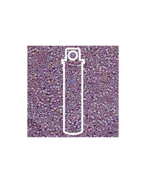 Miyuki 11/0 Seed Bead Matte Trans Light Amethyst - 24g Tube