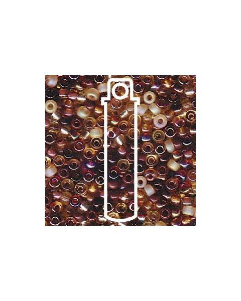 Miyuki 11/0 Seed Bead Mix Wheatberry - 24g Tube