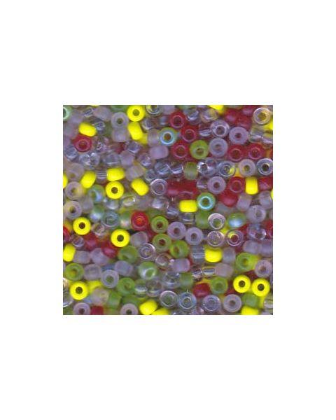 Miyuki 6/0 Seed Bead Mixed Pink Lemonade - 10g Pack (6-9Mix09)