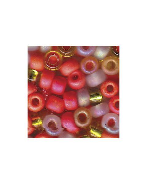 Miyuki 6/0 Seed Bead Mixed Tango - 10g Pack (6-9Mix19)