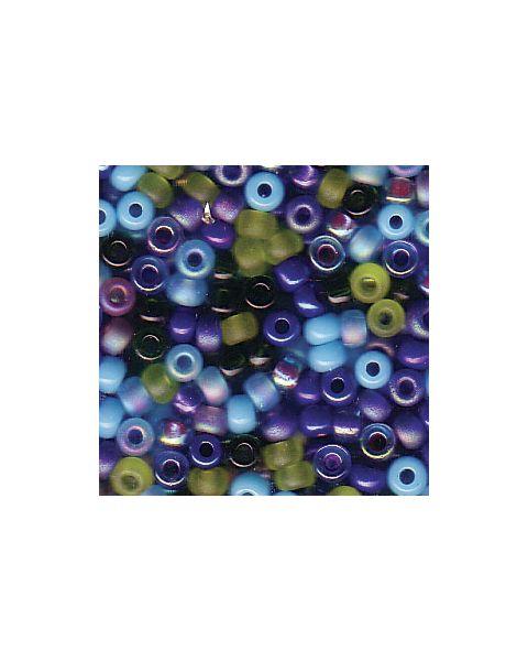 Miyuki 8/0 Seed Bead Mixed Gemtones - 10g Pack (8-9Mix14)