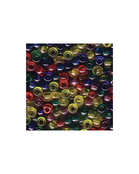 Miyuki 8/0 Seed Bead Mixed Rainbow - 10g Pack (8-9Mix16)