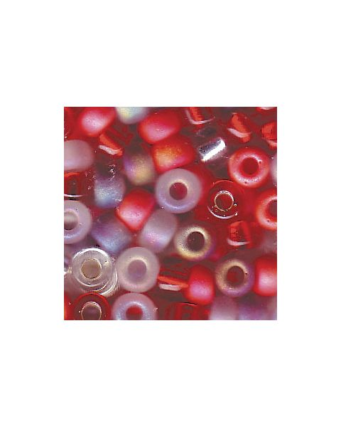 Miyuki 8/0 Seed Bead Mixed Strawberry Fields - 10g Pack (8-9Mix05)