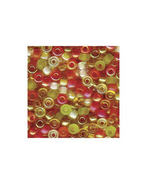Miyuki 8/0 Seed Bead Mixed Tango - 10g Pack (8-9Mix19)