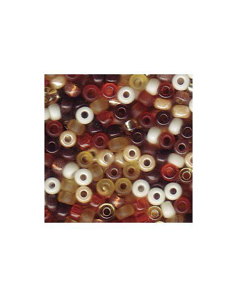 Miyuki 8/0 Seed Bead Wheatberry - 10g Pack (8-9Mix04)