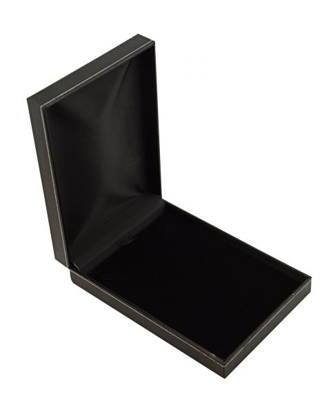 Jet Leatherette Necklace Box - from  £2.30 each