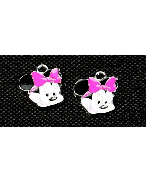 Pack of 2 Minnie Mouse Pendants/Charms (53850-134)