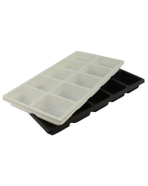 Durable Textured Plastic Full Size Tray Inserts