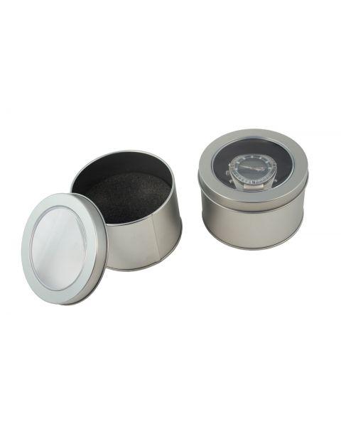 Round Aluminium Watch/Bracelet Box from 99p each (577649-34)