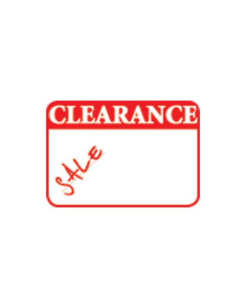 Self Adhesive 'Clearance Sale' Labels - Pack of 504