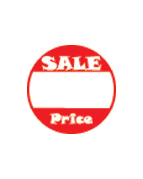 Self Adhesive Labels - Round 'Sale Price' Print - Pack of 510