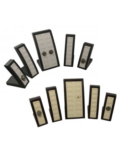Leatherette & Suede 40 Ring Display Set (SET125)