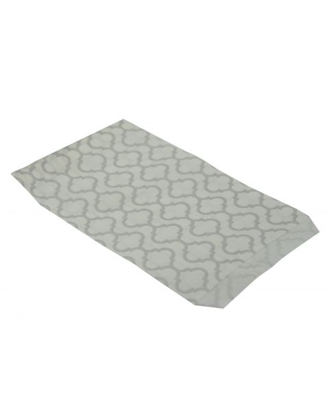 100 Silver Trellis Paper Gift Bags from £2.49