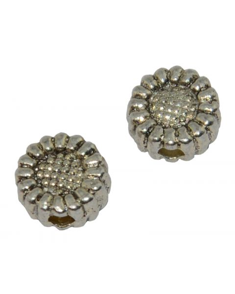 Pack of 25 Sunflower Spacer Bead (6-66)