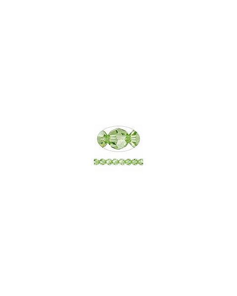 Swarovskiï¾® Crystal 6mm Faceted Round, Peridot (5000)