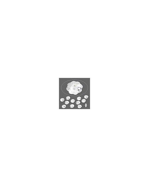 Swarovskiï¾® Crystal 6mm Marguerite Lochrose Flower (3700)