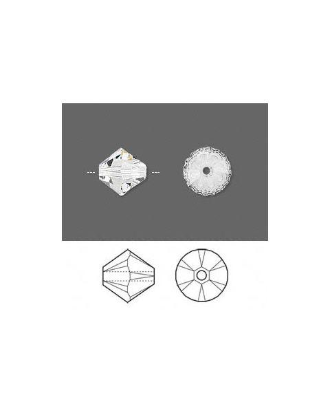Swarovskiï¾® Crystal, CRYSTAL, 10mm Xilion bicone (5328).