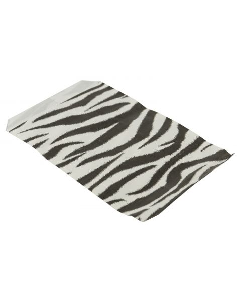 100 Zebra Print Paper Gift Bags from £2.49