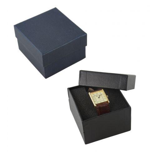 Cardboard Watch / Bracelet Box with H Cut Foam Insert from 79p each!