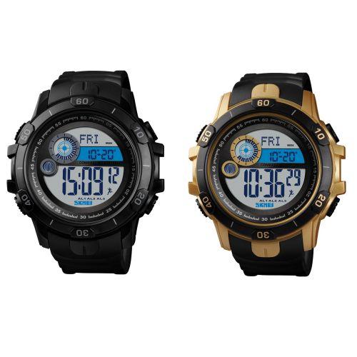 SKMEI Sport Watch Digital Pedometer Date Calorie Mileage Distance Wristwatch