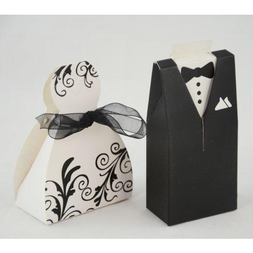 48 x Bride & Groom Wedding Favours - (415205-76)