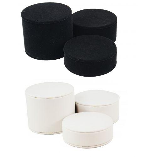 3 Piece Cylinder Riser Block Plinths Set