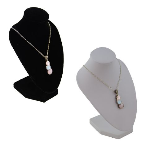 Pack of 5 Display Bust for Necklaces / Pendants / Chains - 6 Inch