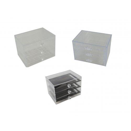 Acrylic Stud / Drop Earring Jewellery Display Box