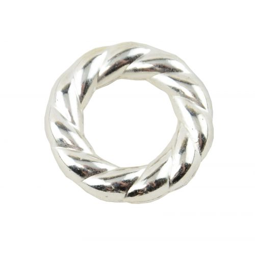 20pcs Large Acrylic Donut twist Jump Ring Necklace Spacer Bead