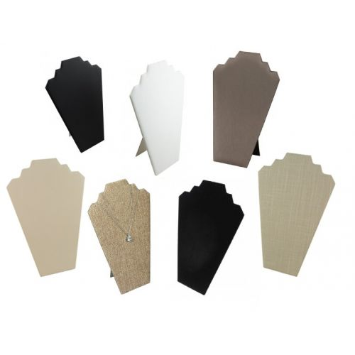 Slim 2 Notch Display Bust from £2.95 - Colour Choice