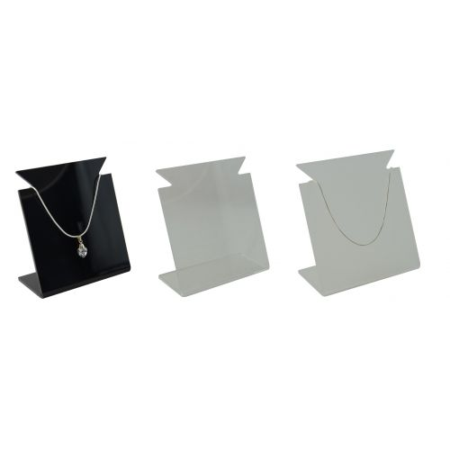 Acrylic Necklace Display Bust Medium  (A47-88)