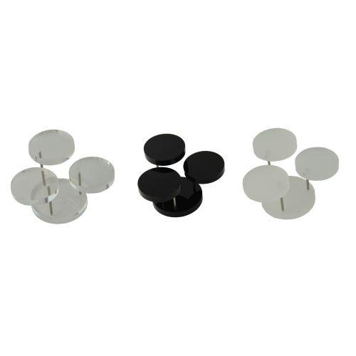 Acrylic Universal 3 Podium Ring Holder (A48-20)