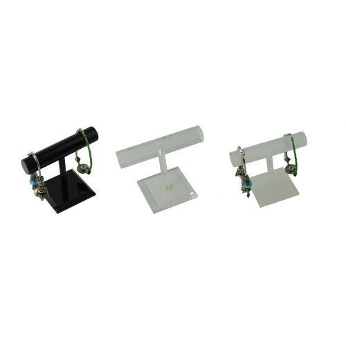 Acrylic Bangle / Bracelet T-Bar Stand Small - Colour Choice (A48-61)