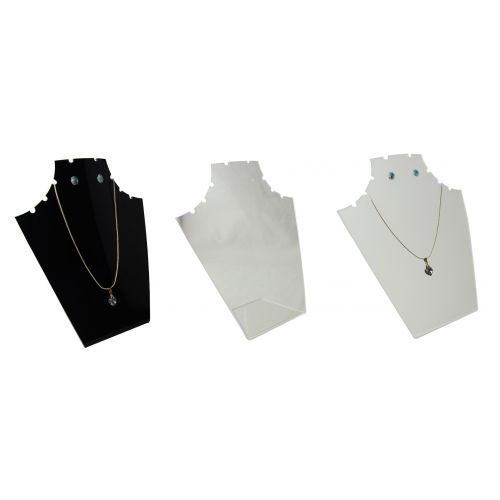 Acrylic 10 Notch Pendant/Earring Necklace Display Stand (A50-63)