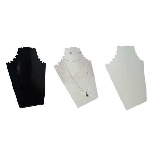 Acrylic 12 Notch Pendant/Earring Necklace Stand (A50-64)