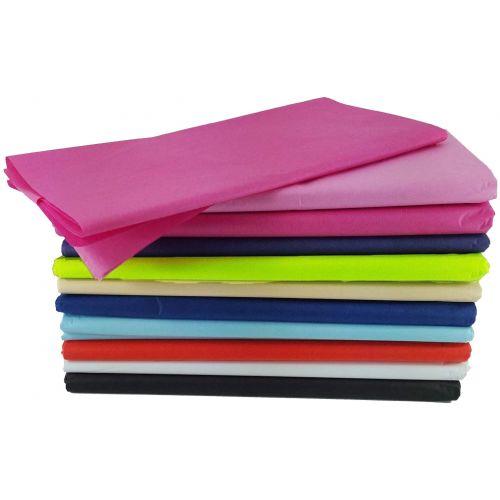 Tissue Paper Ream - 50 x 70cm - Colour Choice - Big Value Ream!