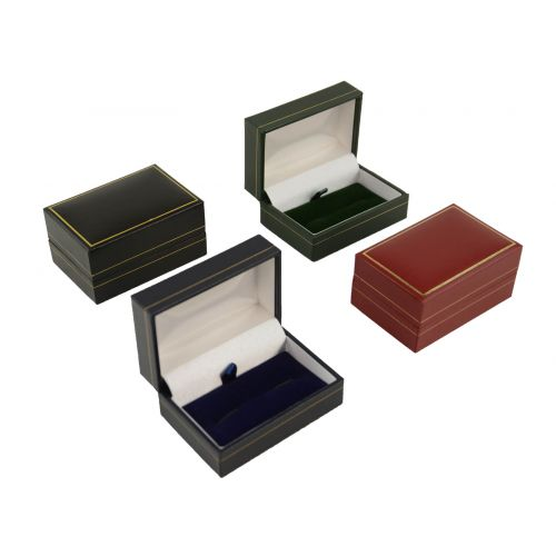 Classic Leatherette Cufflink Box from £1.35 each