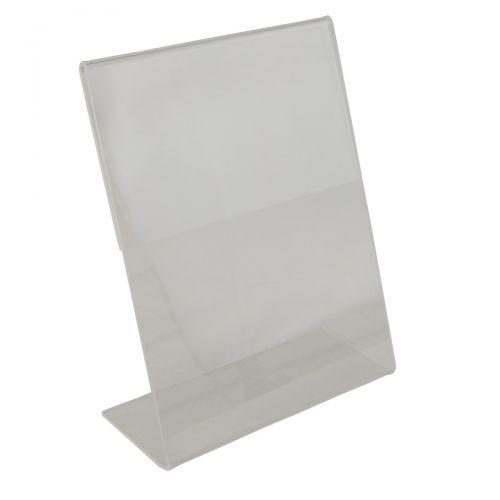Acrylic Sign Holder - Slant Back - 127x182mm (BD1219)