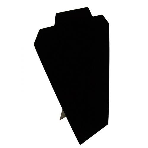 Black Velvet Slim padded Display Bust 12 inch from £3.50