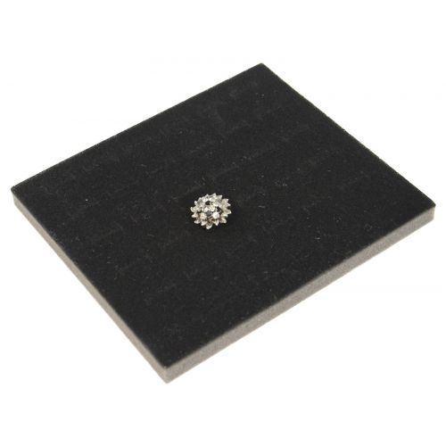 Half Size Ring Pad Tray/Box Insert for 36 Rings - Colour Choice