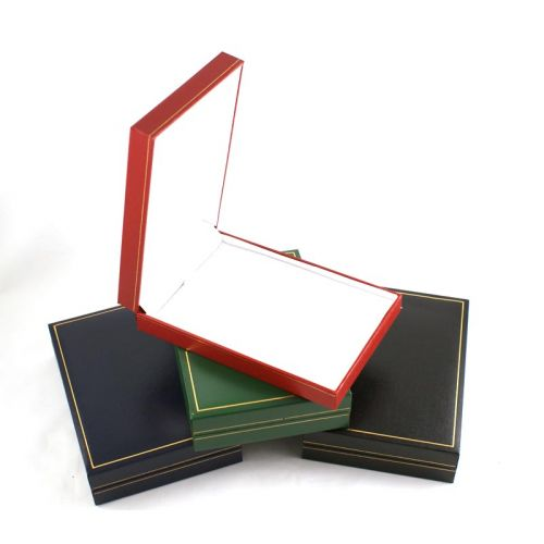 Classic Leatherette Necklace Box from £2.30 each