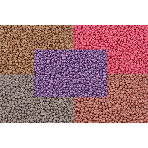 50g Bag Of Opaque 8/0 Seed Beads