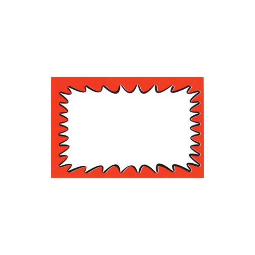 Price Sign/Card - plain - pack of 50 - BD1130